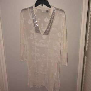 Chicos Tunic Or Beach Coverup